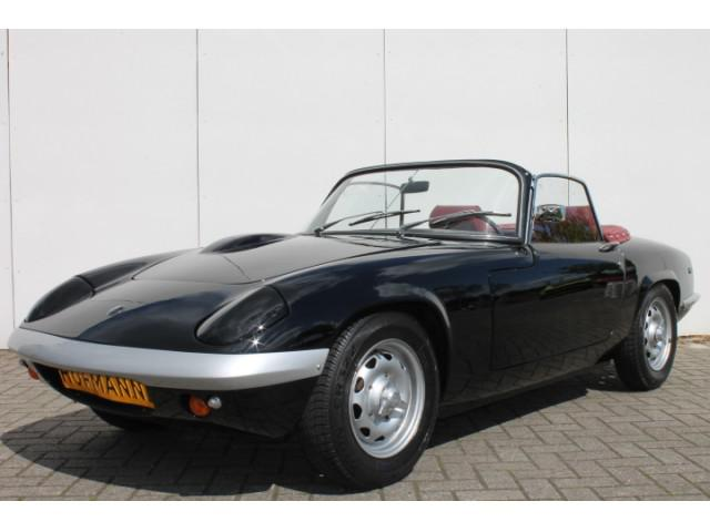 Lotus Elan S4 cabrio Black