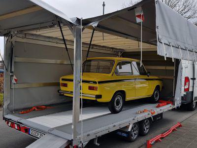 Daf Volvo geel