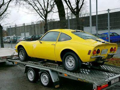 Opel GT naar Kroatie