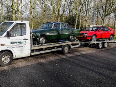Rover P6 en Lancia Delta