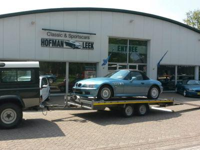 BMW Z3 naar Duitsland