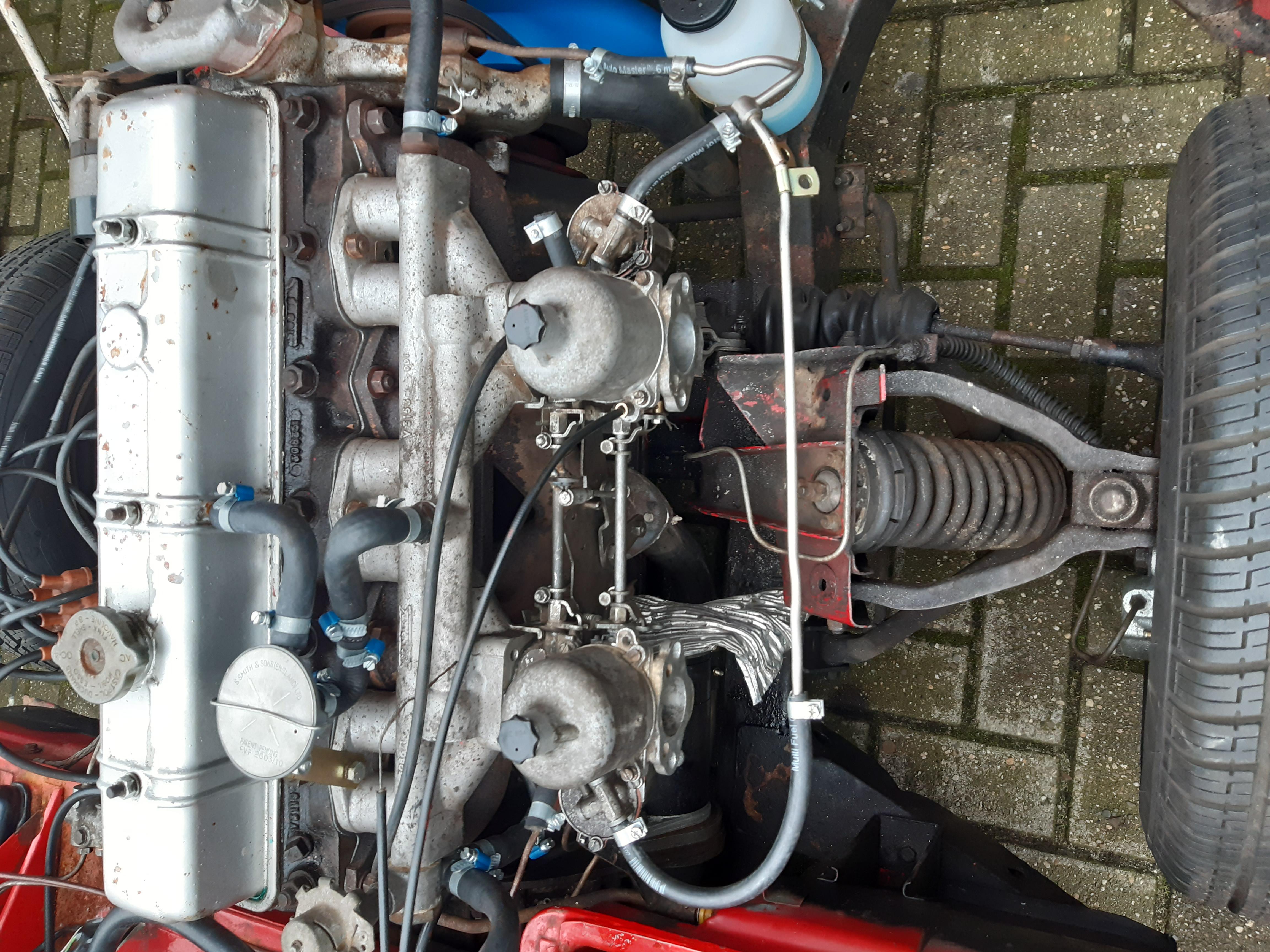 SU H4 carburateurs