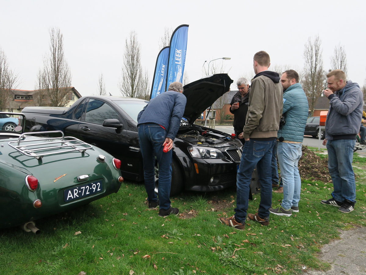 Cars en Coffee Leek - Foto 1