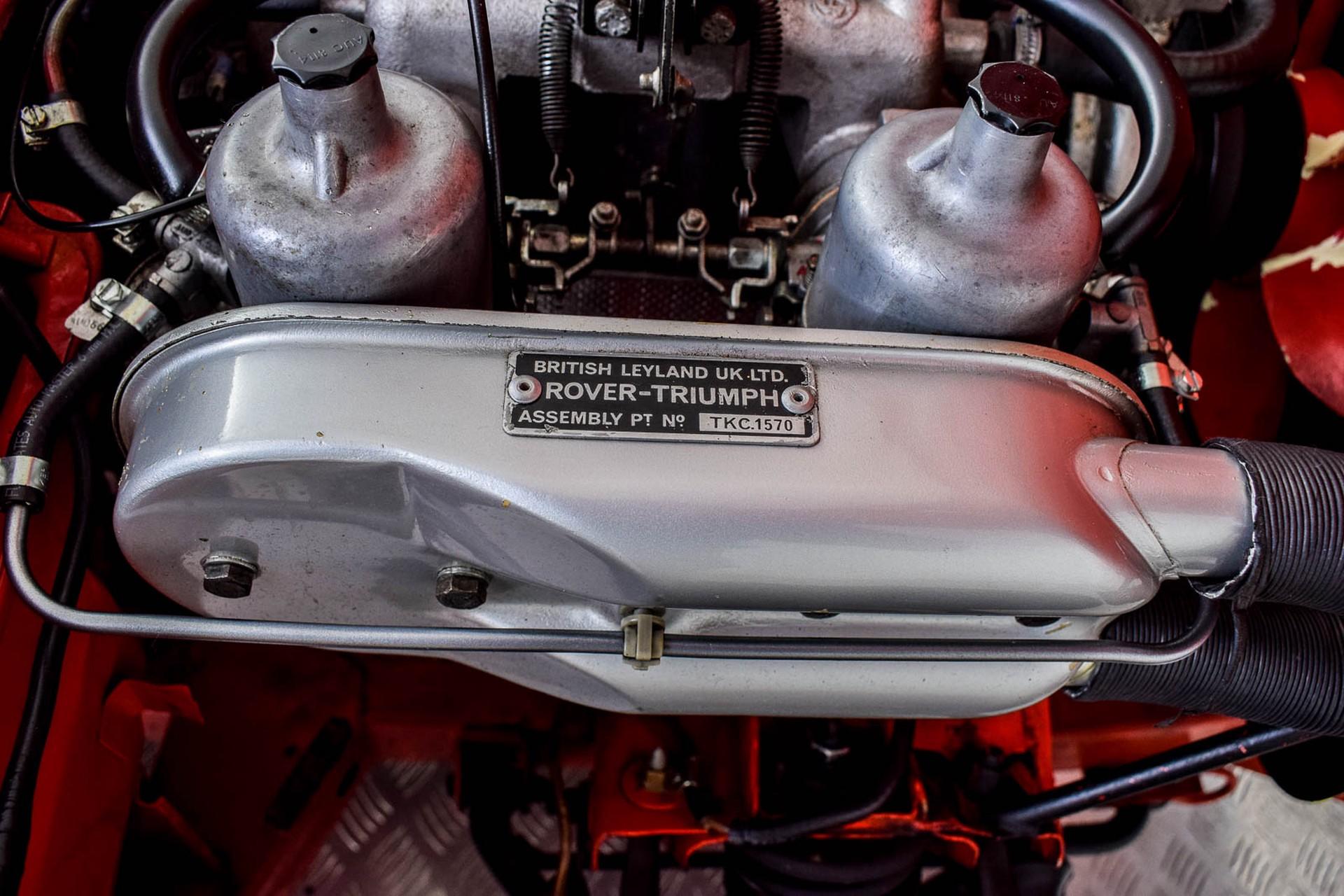 Triumph Spitfire 1500 TC Foto 61