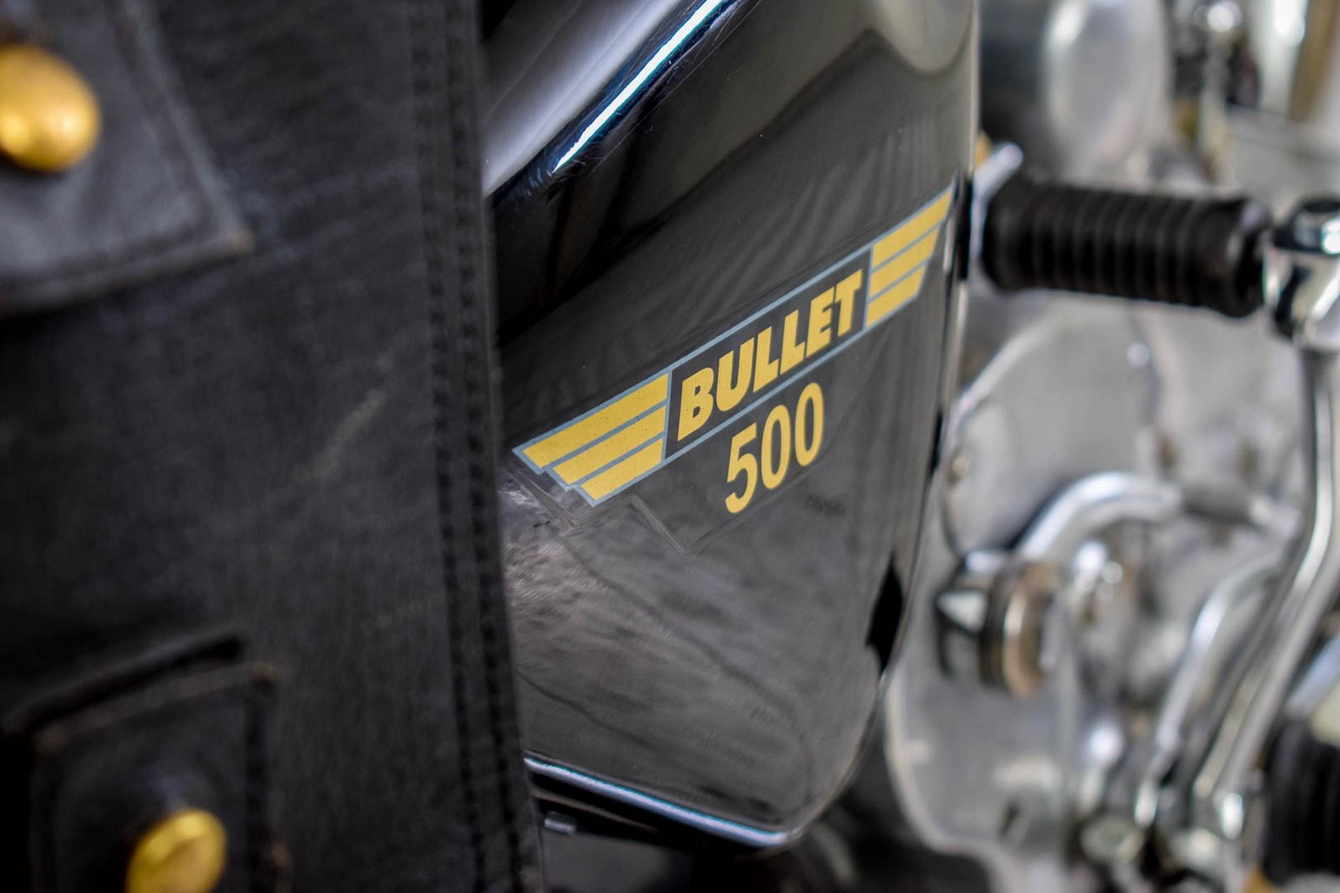 ROYAL ENFIELD  Tour BULLET 500 slechts 1965 KM! Foto 10