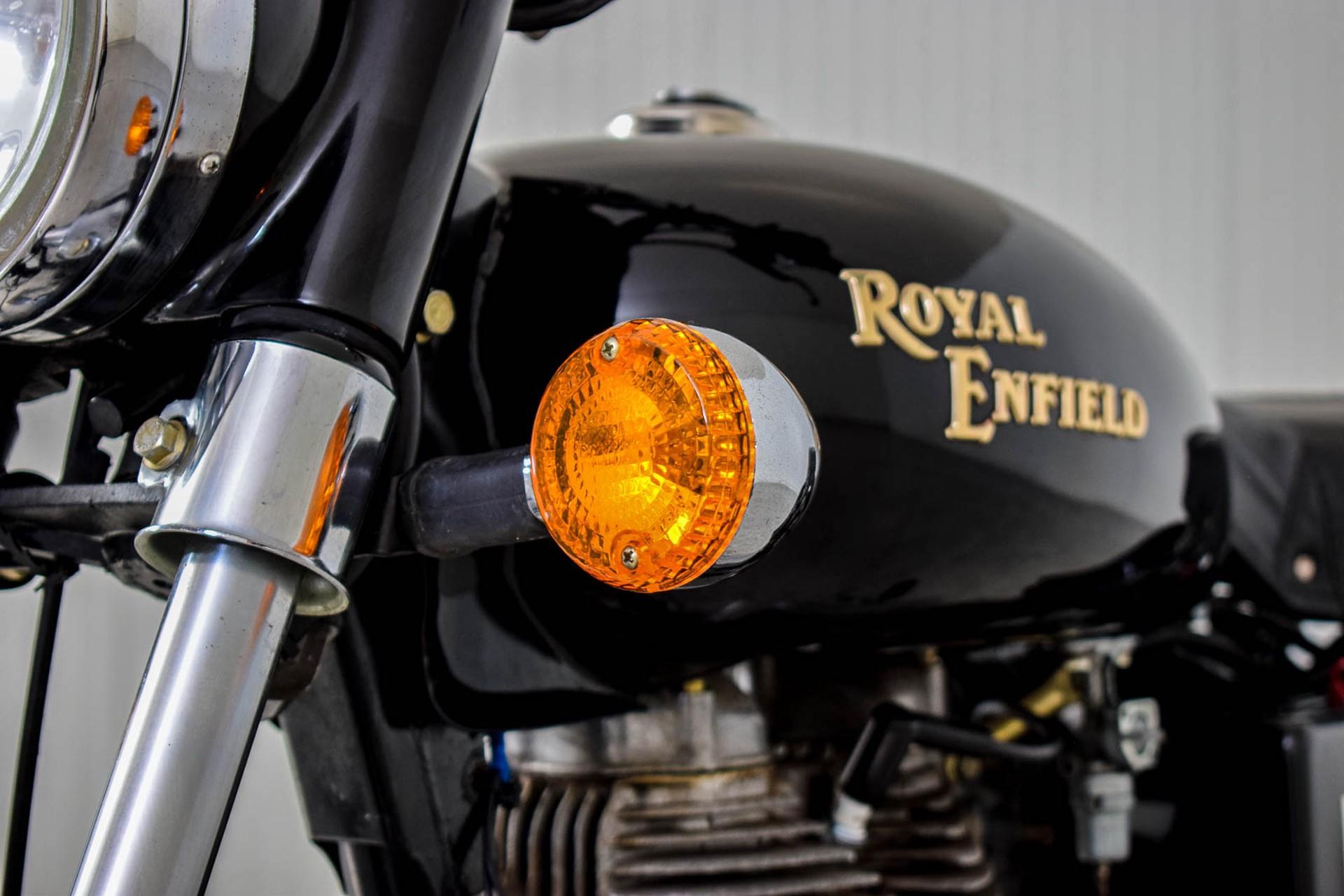 ROYAL ENFIELD  Tour BULLET 500 slechts 1965 KM! Foto 25