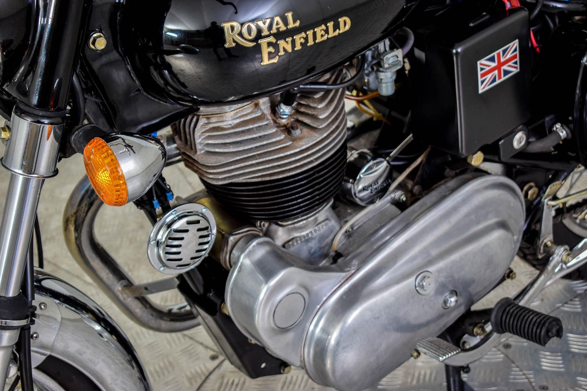 ROYAL ENFIELD  Tour BULLET 500 slechts 1965 KM! Foto 28