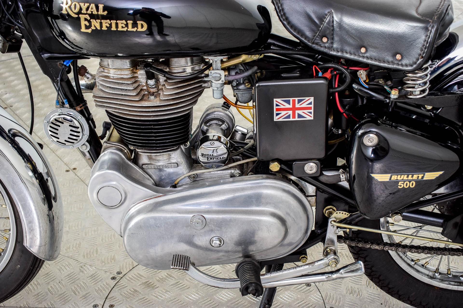 ROYAL ENFIELD  Tour BULLET 500 slechts 1965 KM! Foto 34