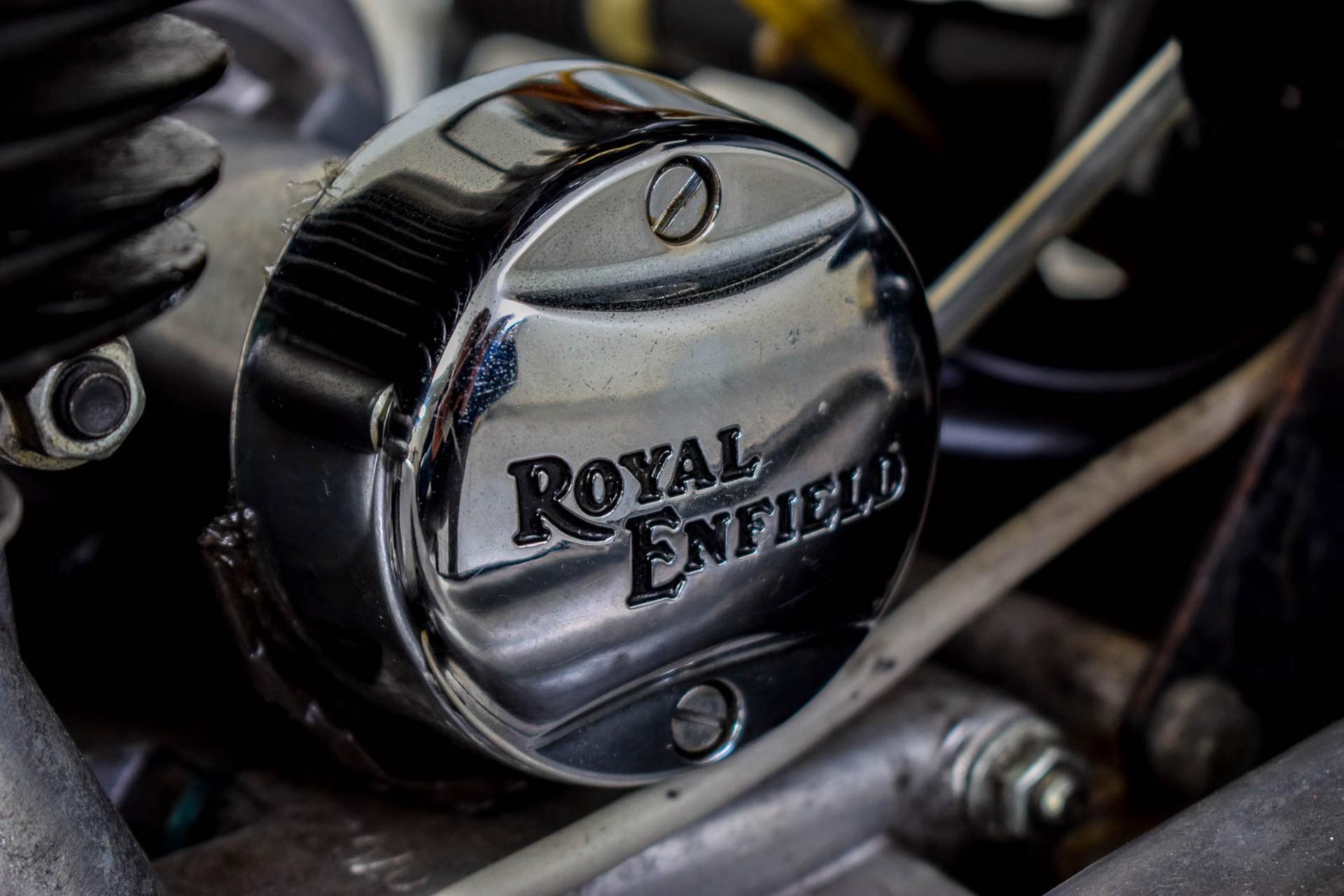 ROYAL ENFIELD  Tour BULLET 500 slechts 1965 KM! Foto 35