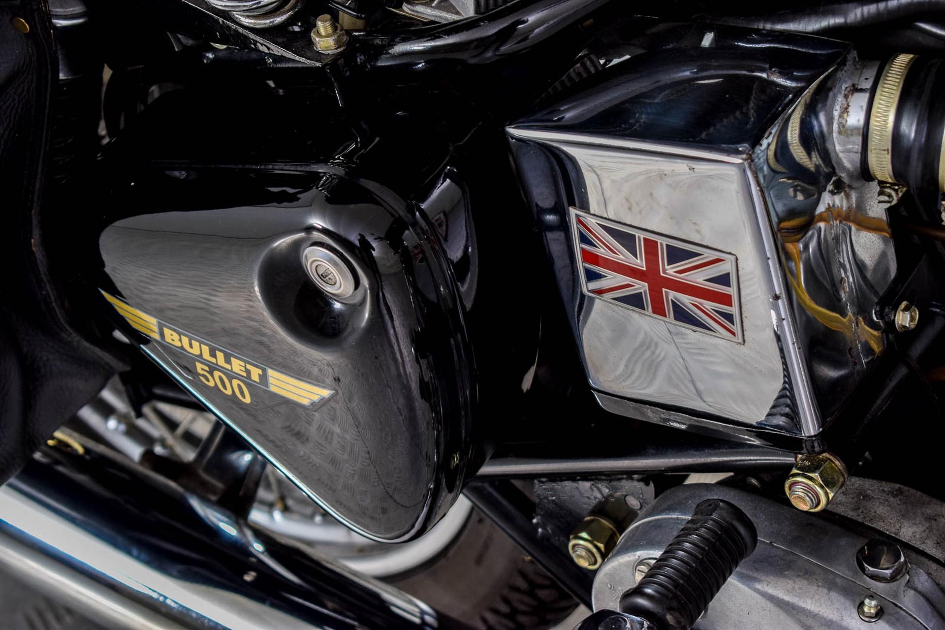ROYAL ENFIELD  Tour BULLET 500 slechts 1965 KM! Foto 9