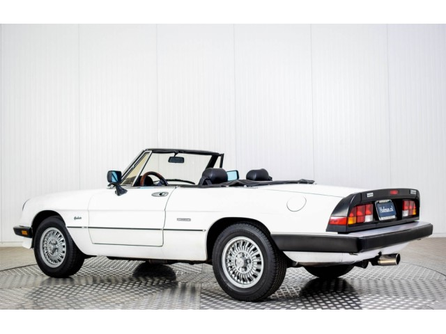 Alfa Romeo Spider Graduate Injection Foto 18