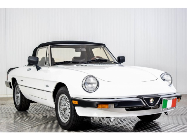 Alfa Romeo Spider Graduate Injection Foto 21