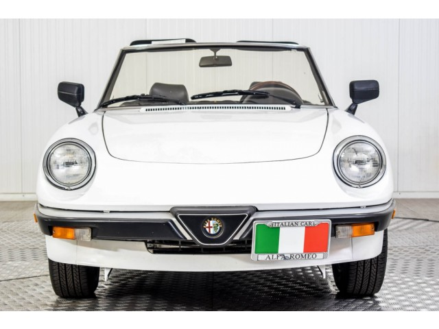 Alfa Romeo Spider Graduate Injection Foto 4