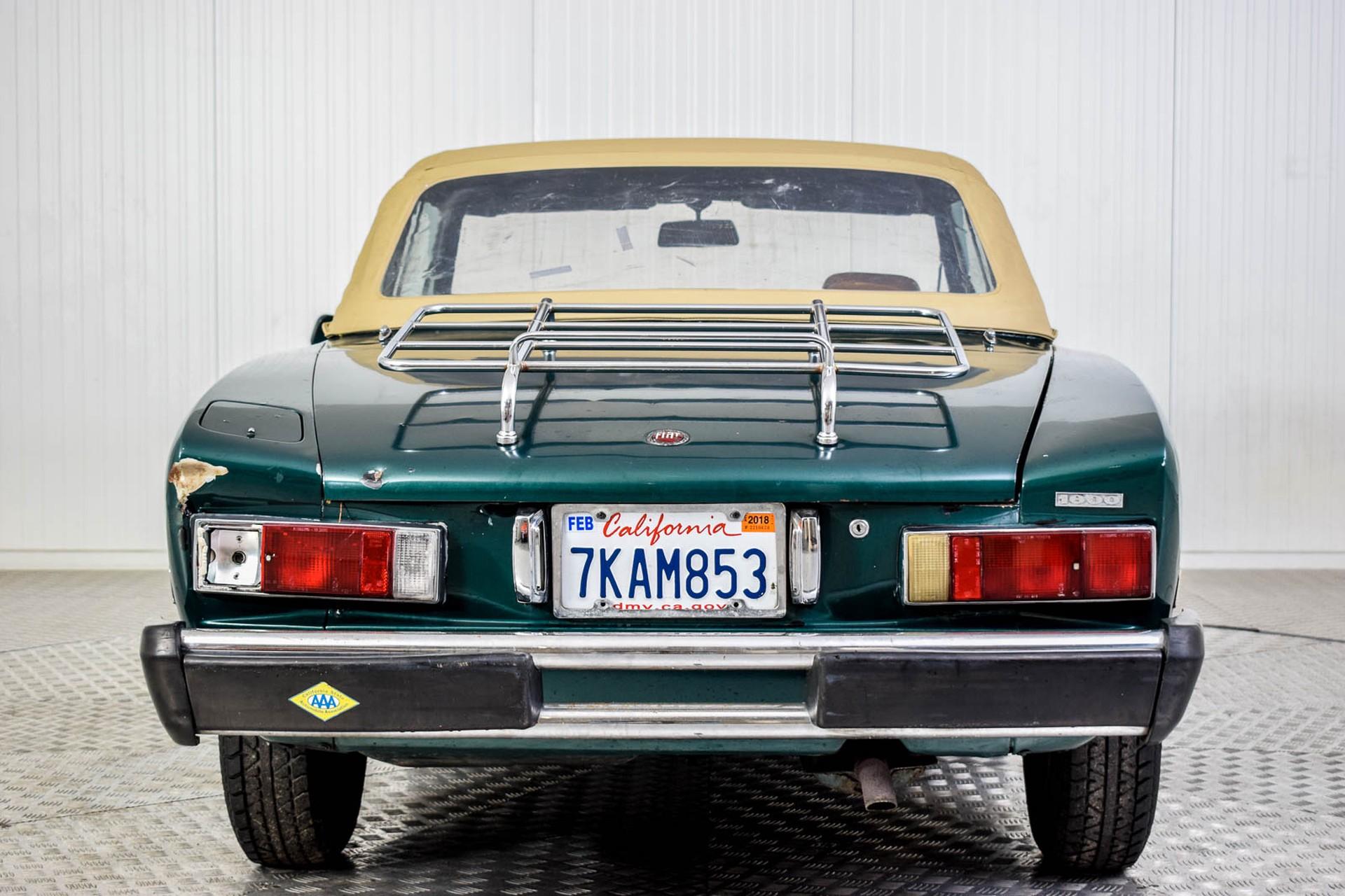 Fiat 124 Spider 1800 Foto 44