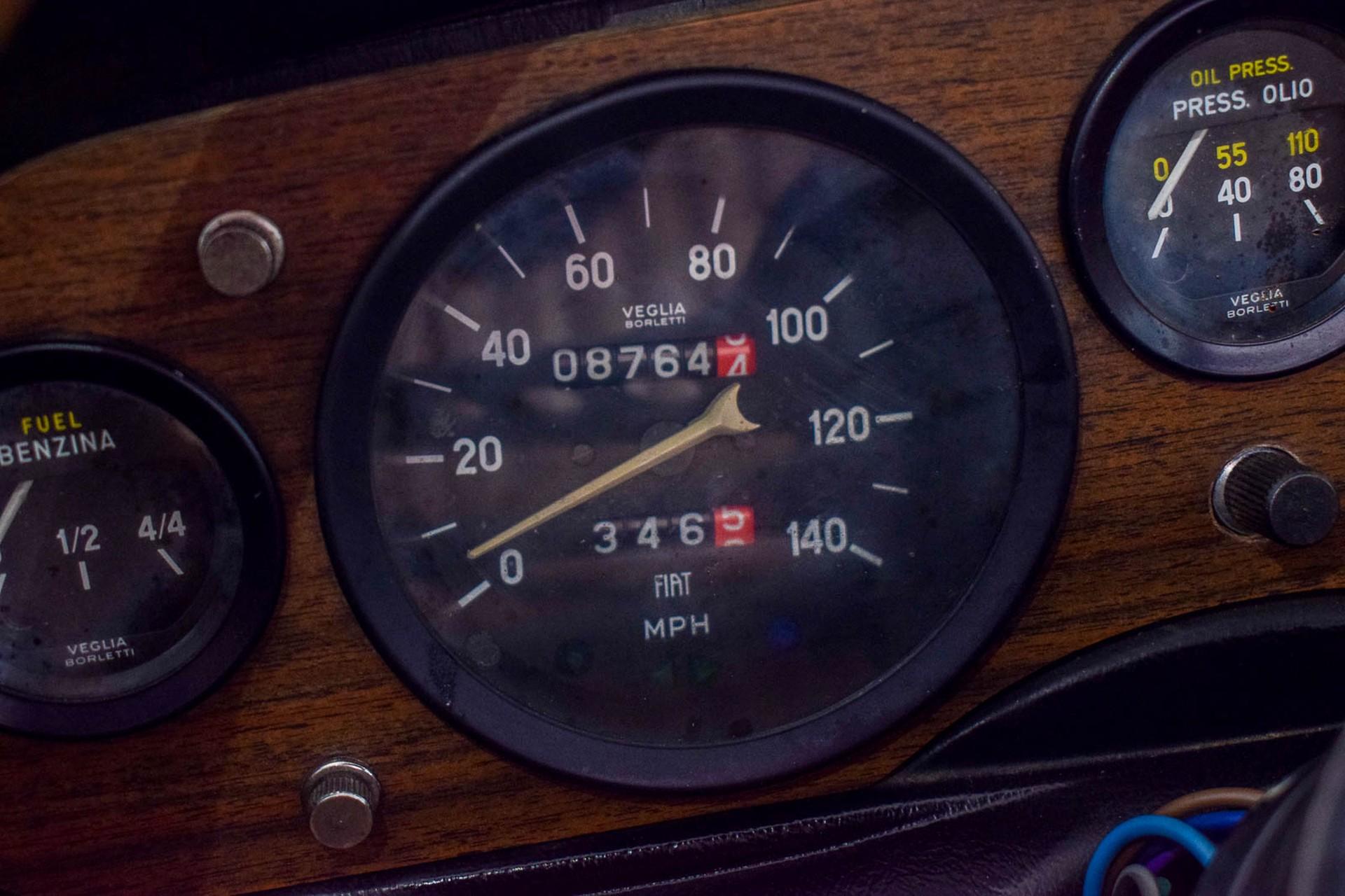 Fiat 124 Spider 1800 Foto 63