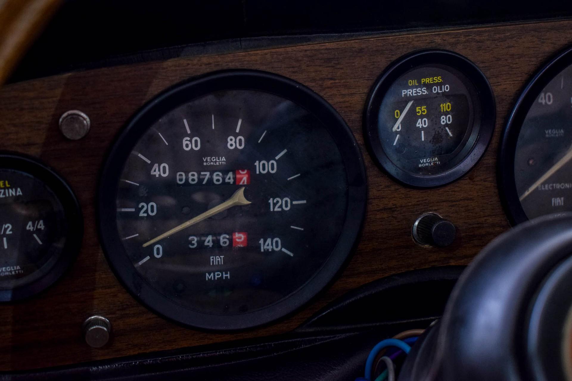 Fiat 124 Spider 1800 Foto 65