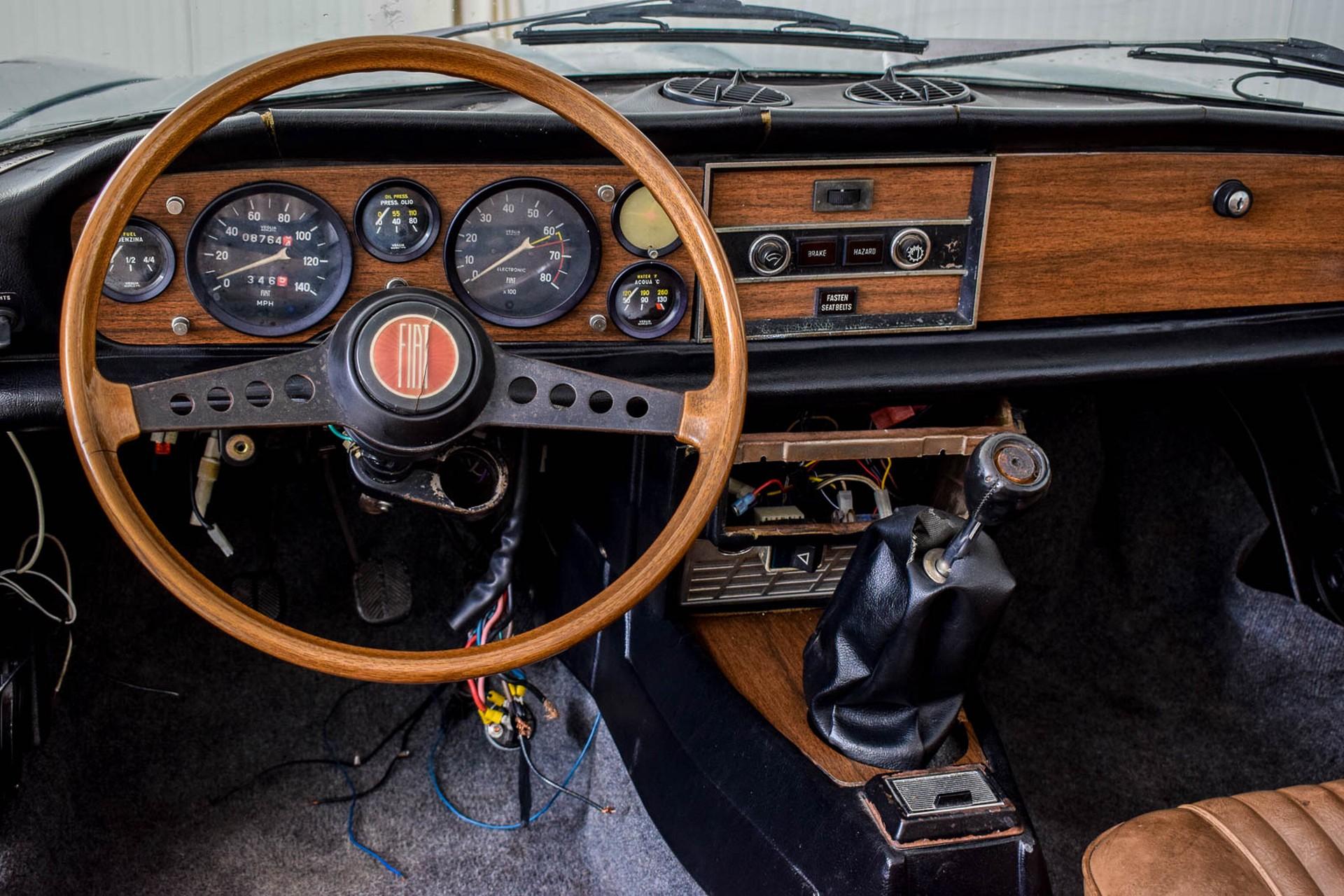 Fiat 124 Spider 1800 Foto 7