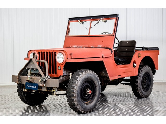 Willys Jeep CJ-2A Foto 1