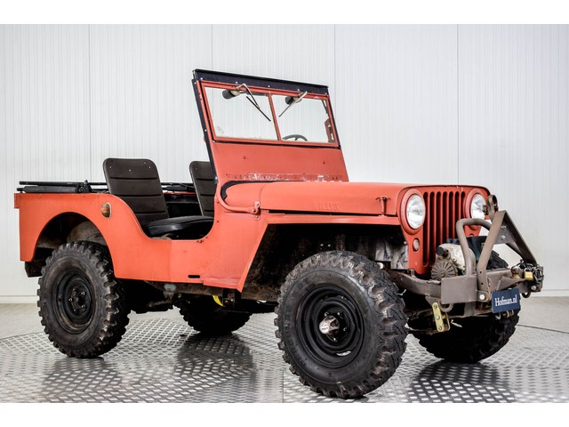 Willys Jeep CJ-2A Foto 12