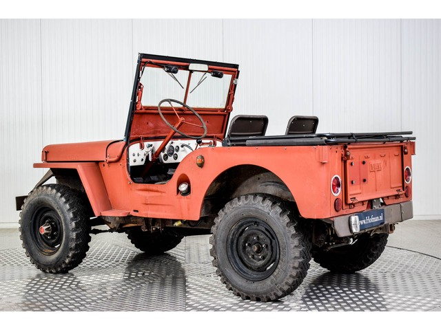 Willys Jeep CJ-2A Foto 13
