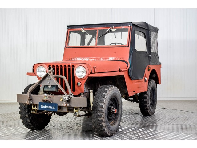 Willys Jeep CJ-2A Foto 17