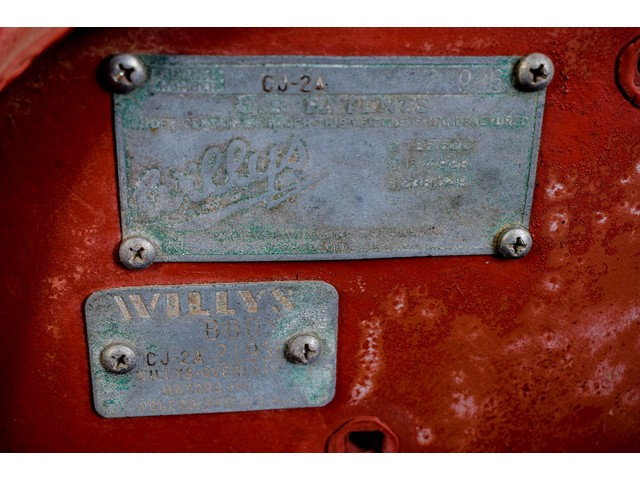 Willys Jeep CJ-2A Foto 49