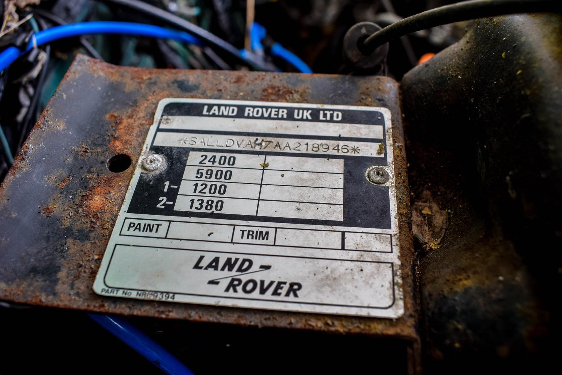 Land Rover Defender 90 2.5 TDi Automaat Foto 15