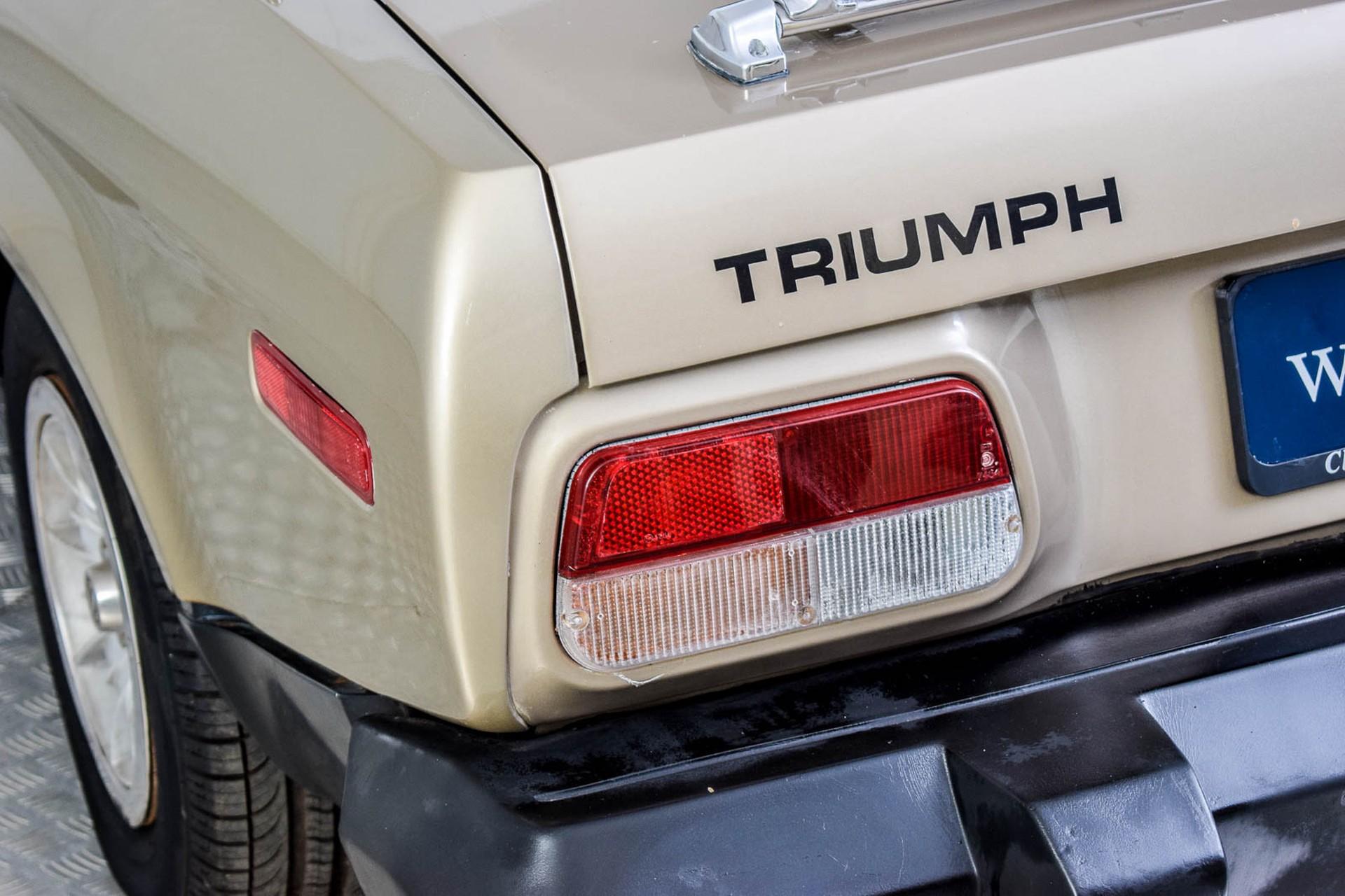Triumph TR8 Convertible Foto 14
