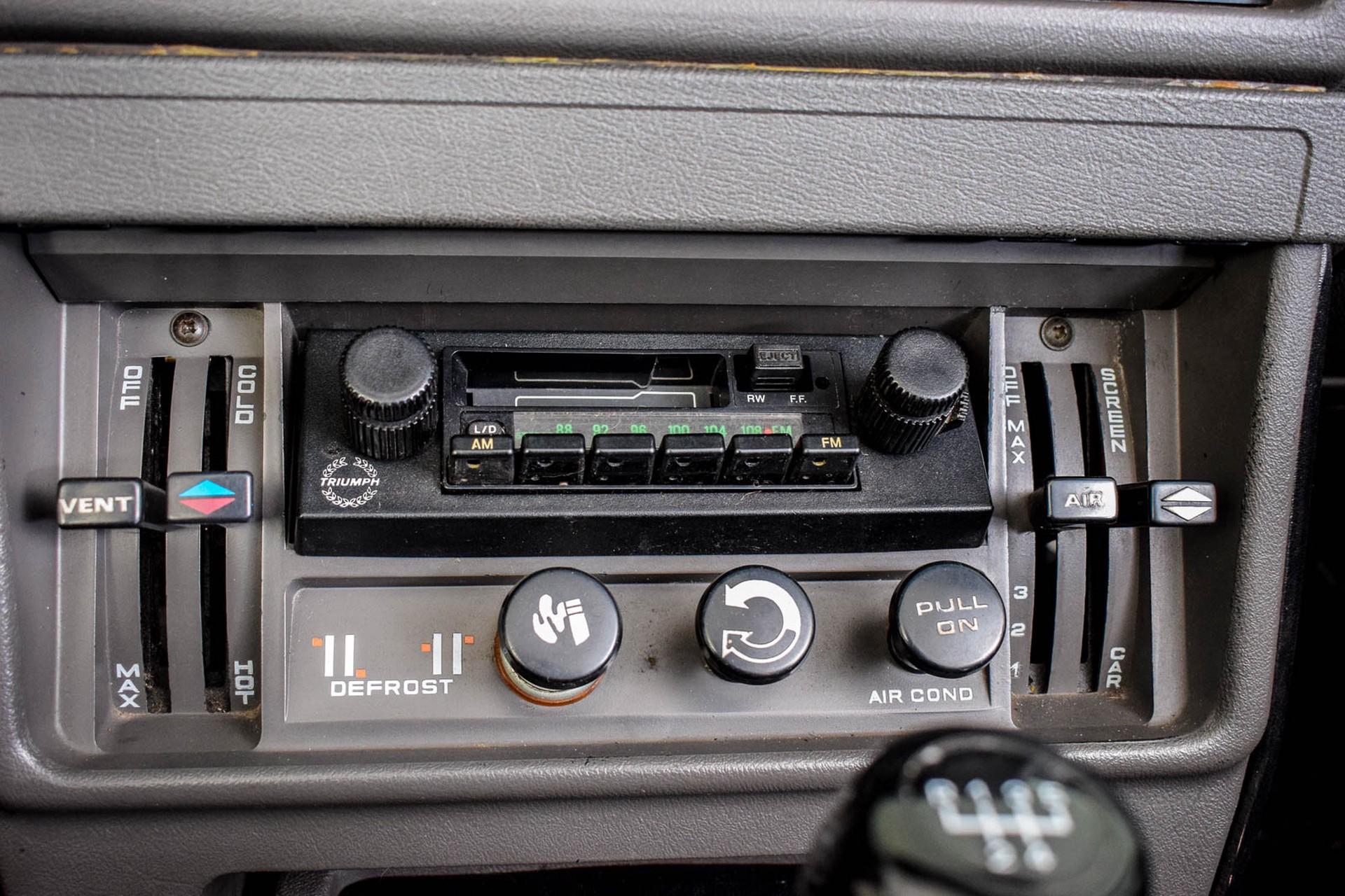 Triumph TR8 Convertible Foto 50