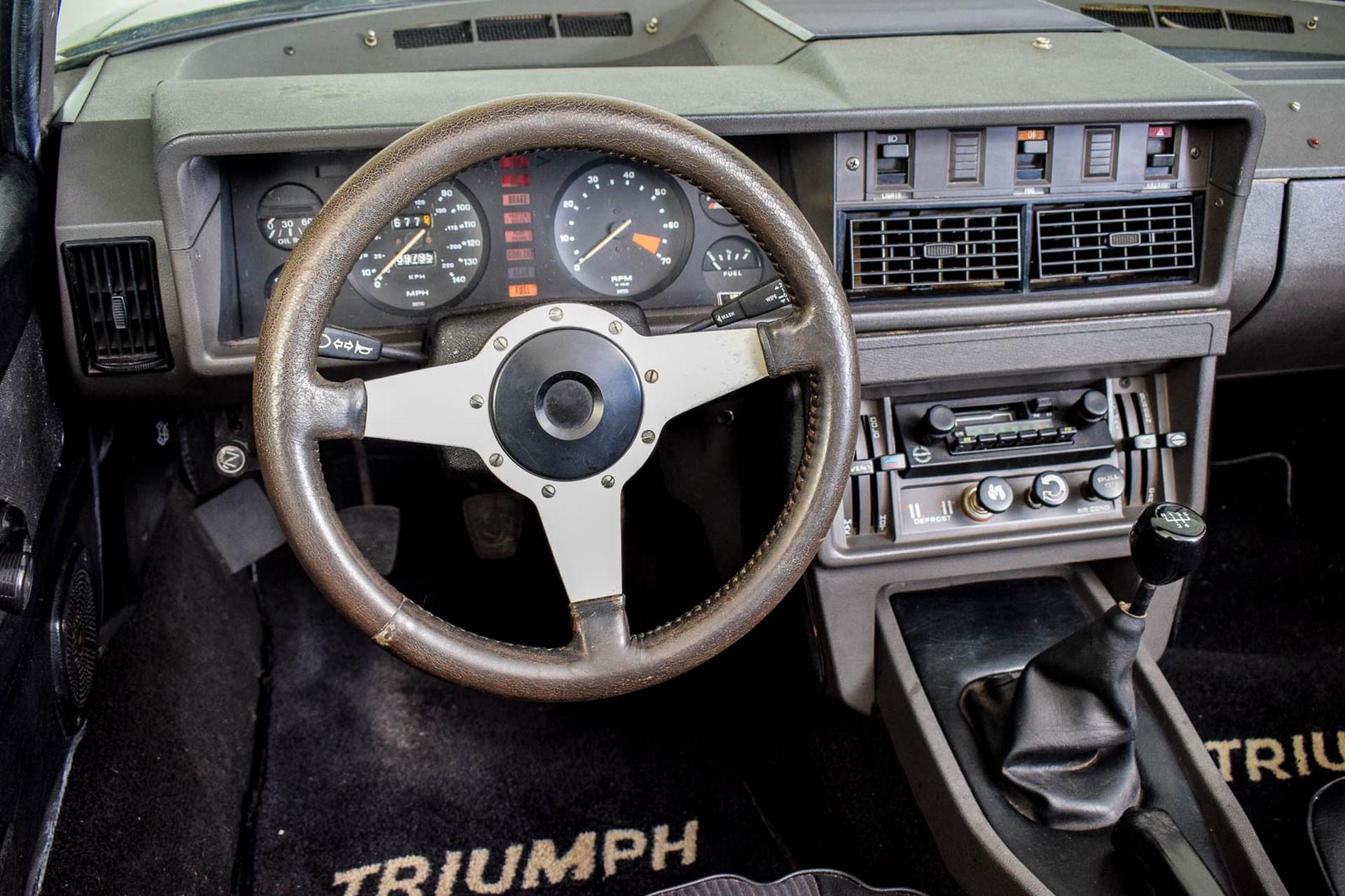 Triumph TR8 Convertible Foto 51