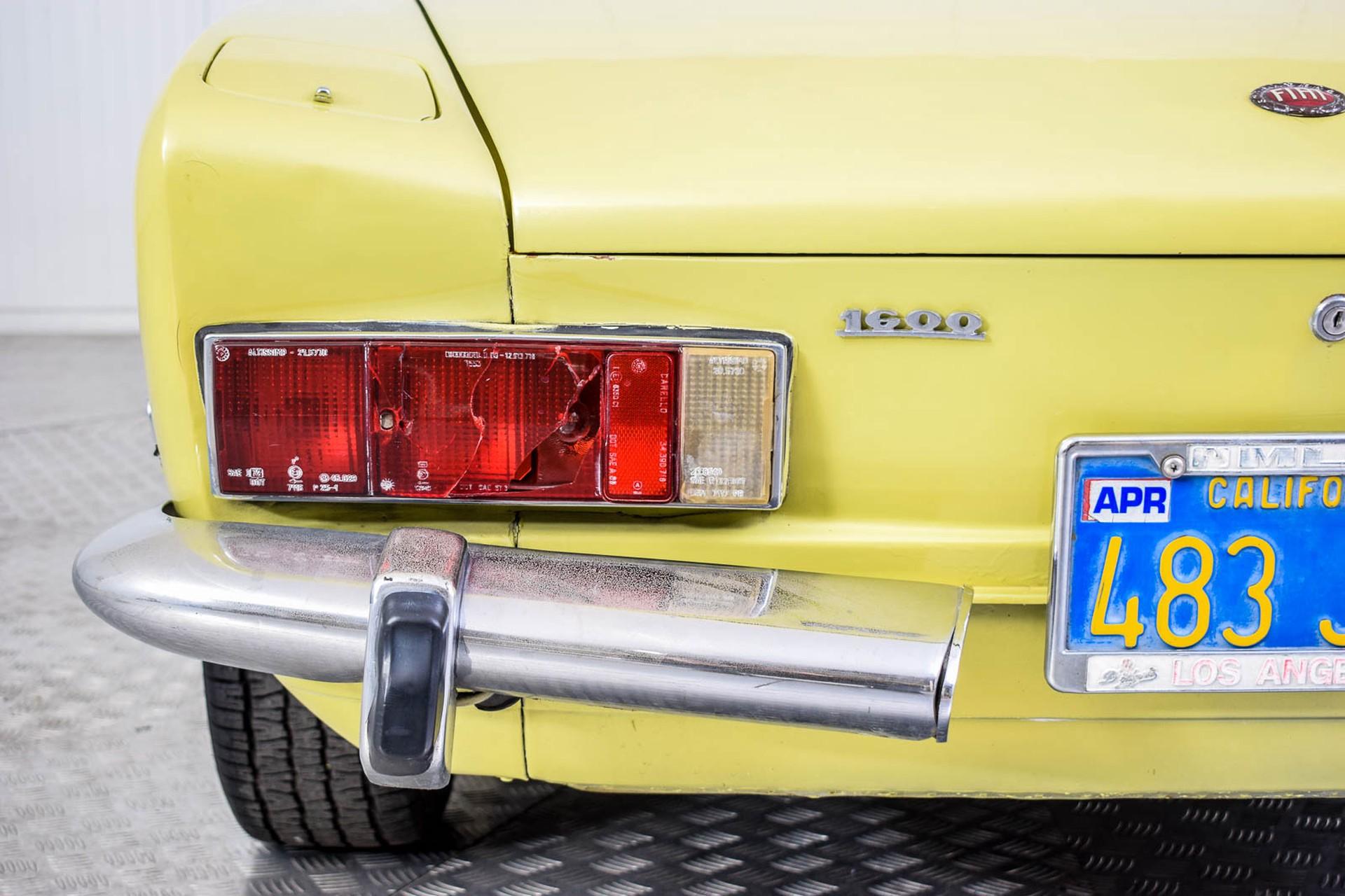 Fiat 124 Spider 1600 Foto 23