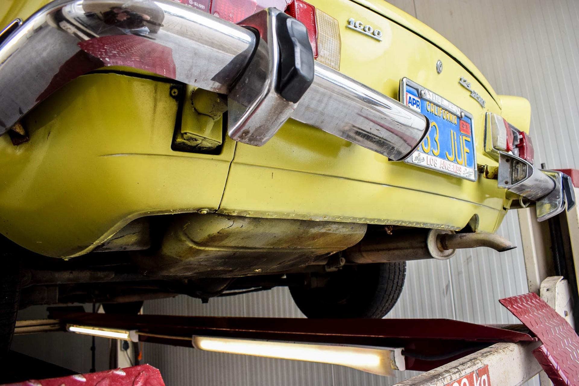 Fiat 124 Spider 1600 Foto 56