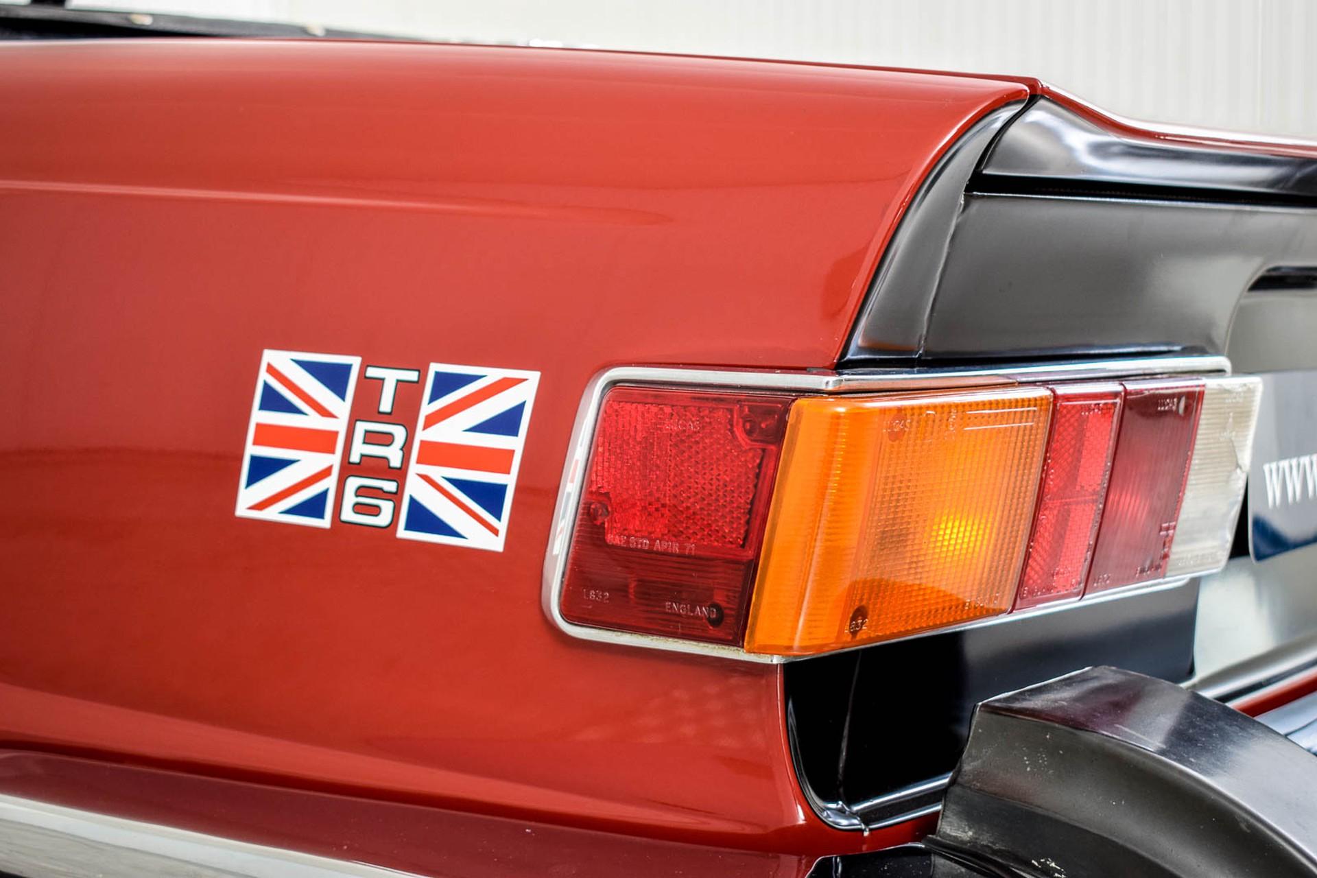 Triumph TR6  Foto 17