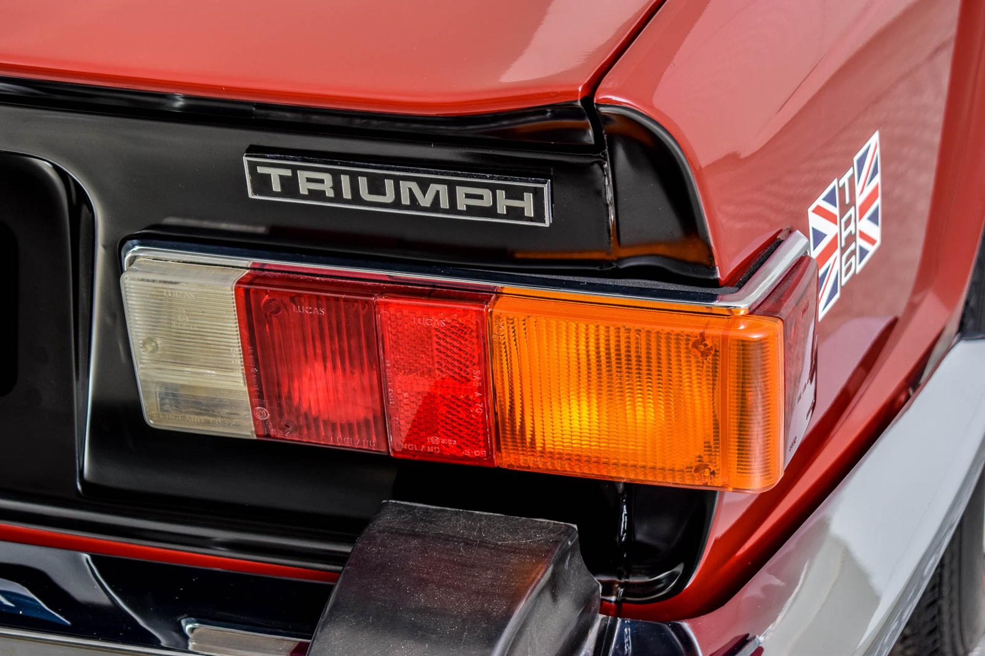 Triumph TR6  Foto 21