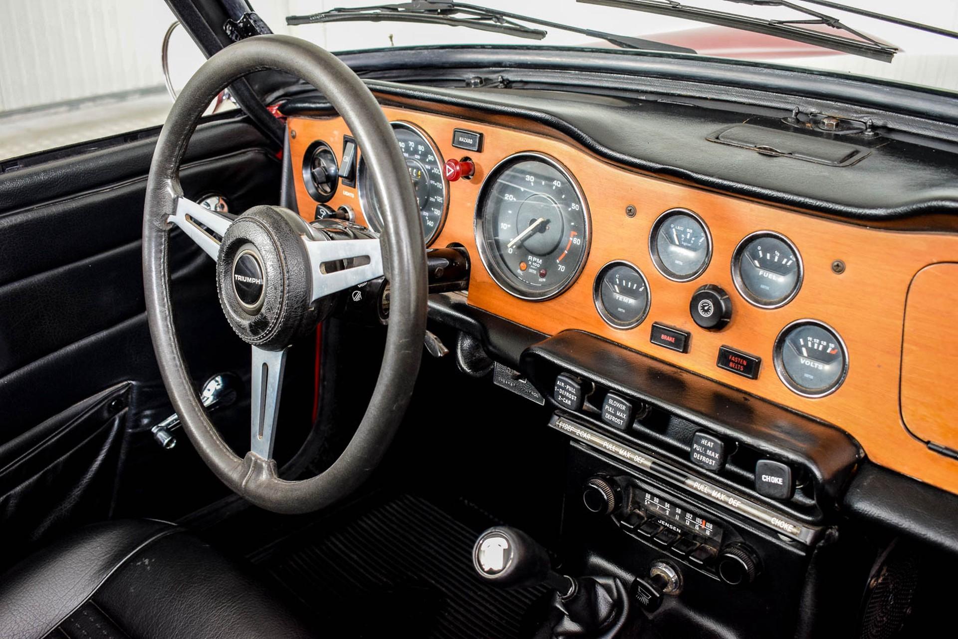 Triumph TR6  Foto 24