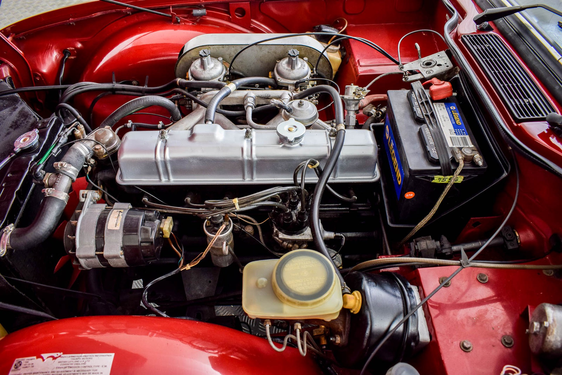 Triumph TR6  Foto 9