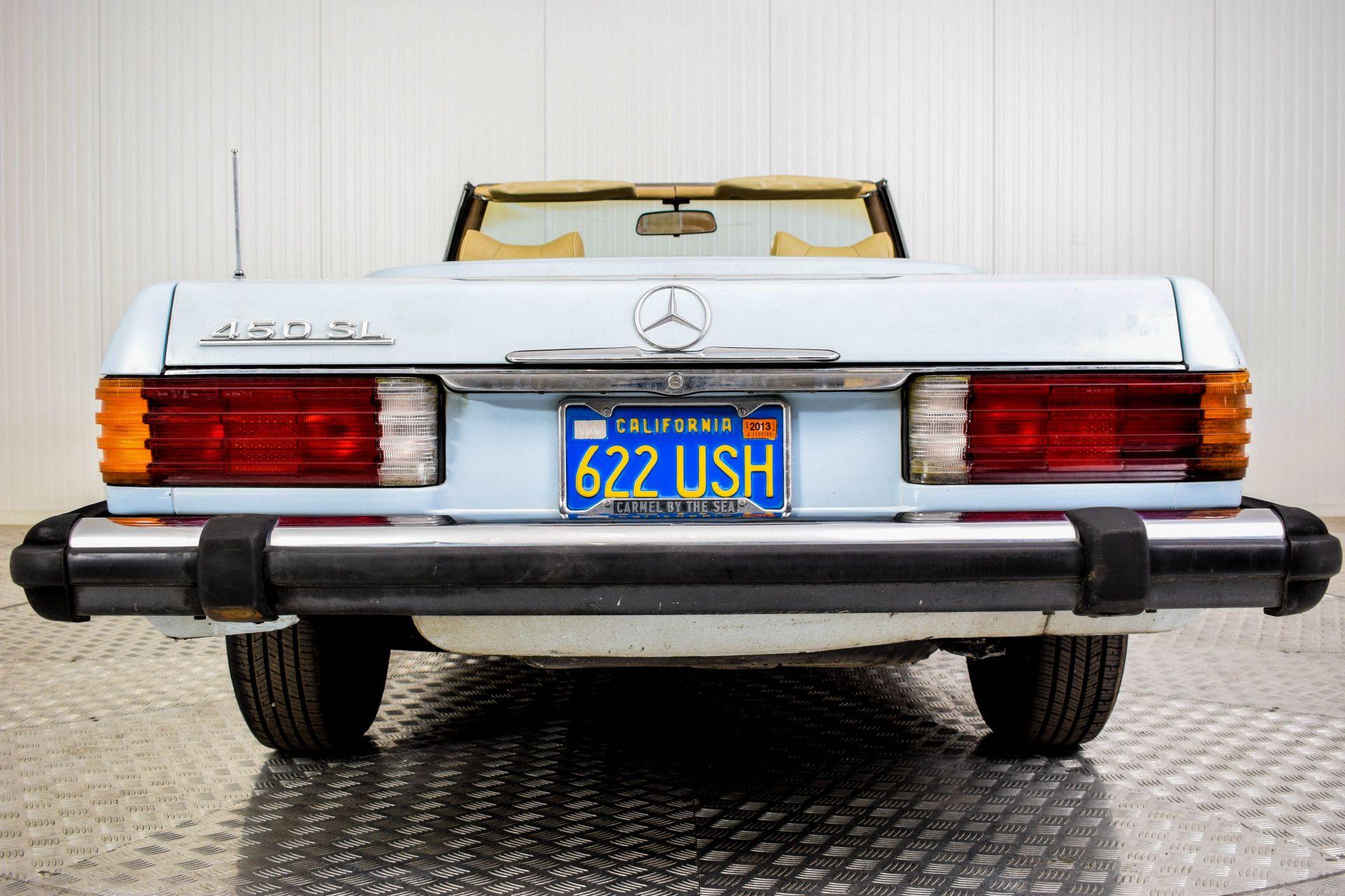 Mercedes-Benz SL-Klasse 450 SL Roadster Foto 43