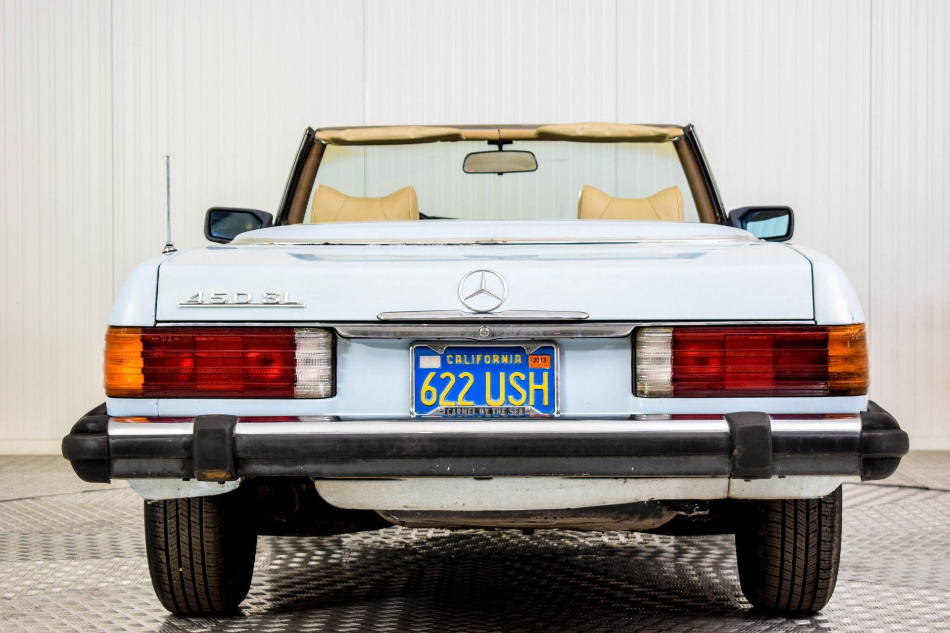 Mercedes-Benz SL-Klasse 450 SL Roadster Foto 8