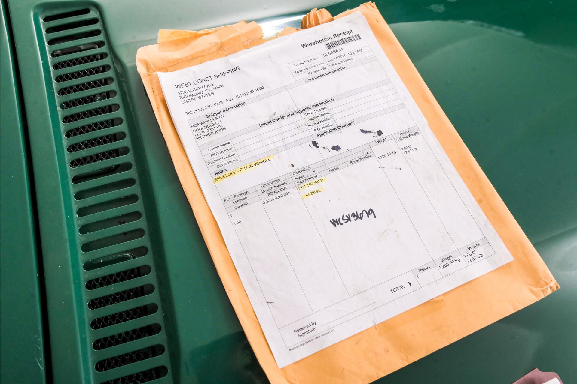 Triumph GT6 MKIII Foto 44