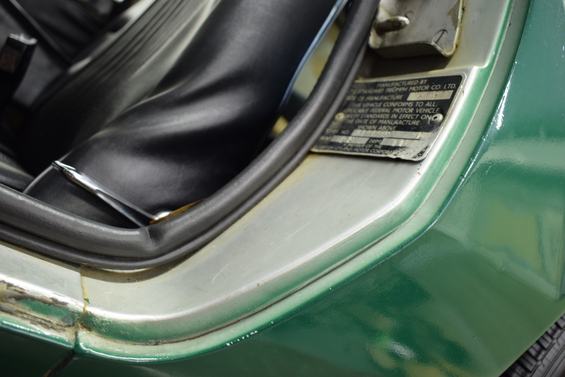 Triumph GT6 MKIII Foto 94
