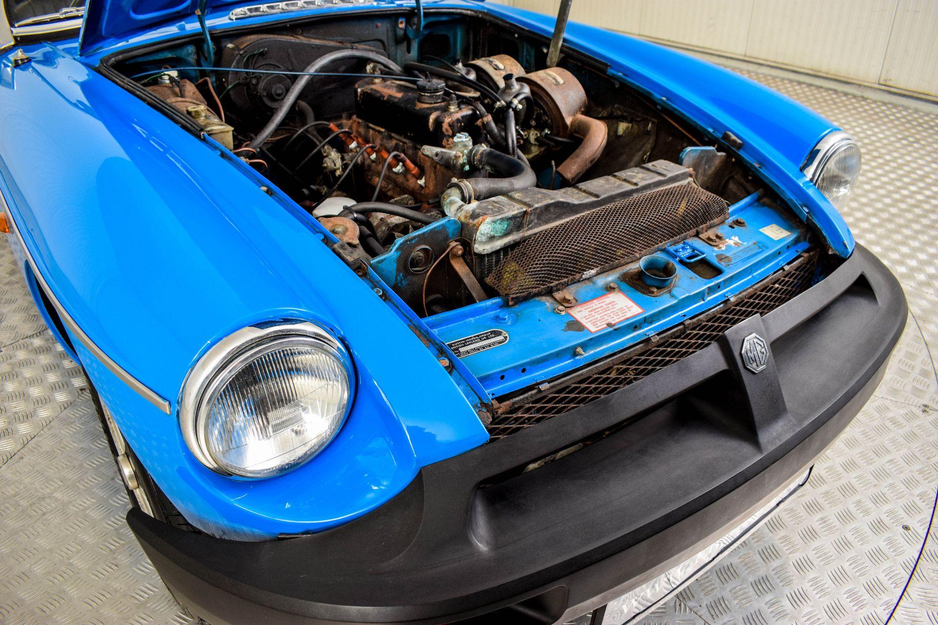 MG B MGB Roadster - Overdrive RHD Foto 18