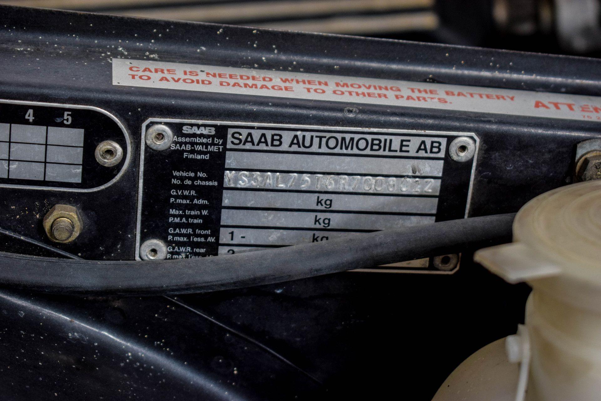 Saab 900 Turbo Cabriolet Foto 29