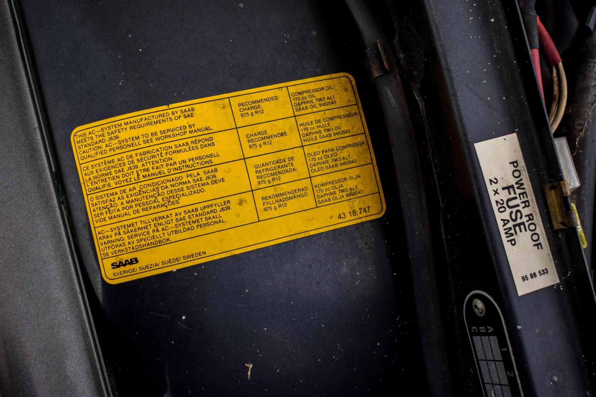 Saab 900 Turbo Cabriolet Foto 44