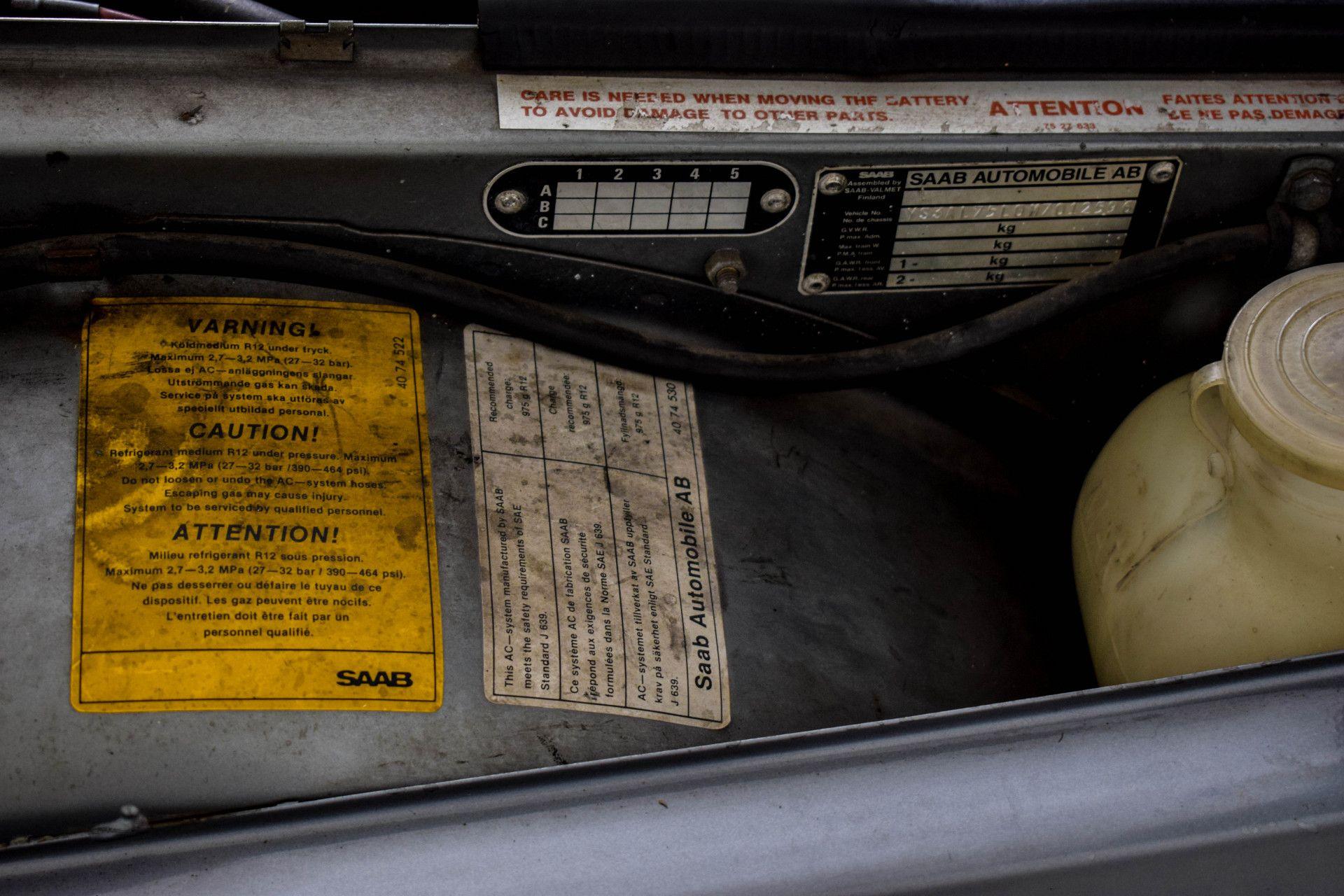 Saab 900 Turbo Cabriolet Foto 42