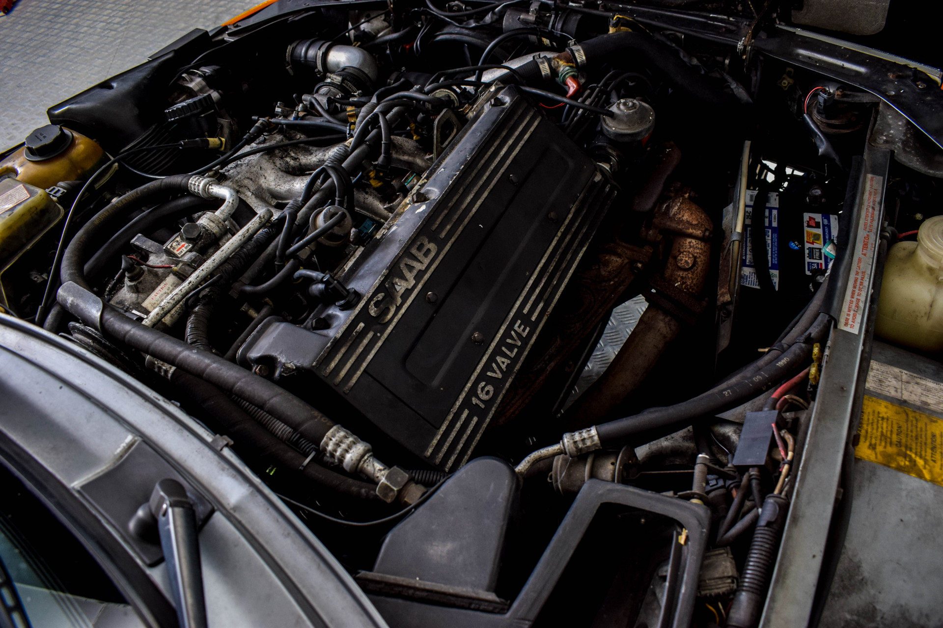 Saab 900 Turbo Cabriolet Foto 48