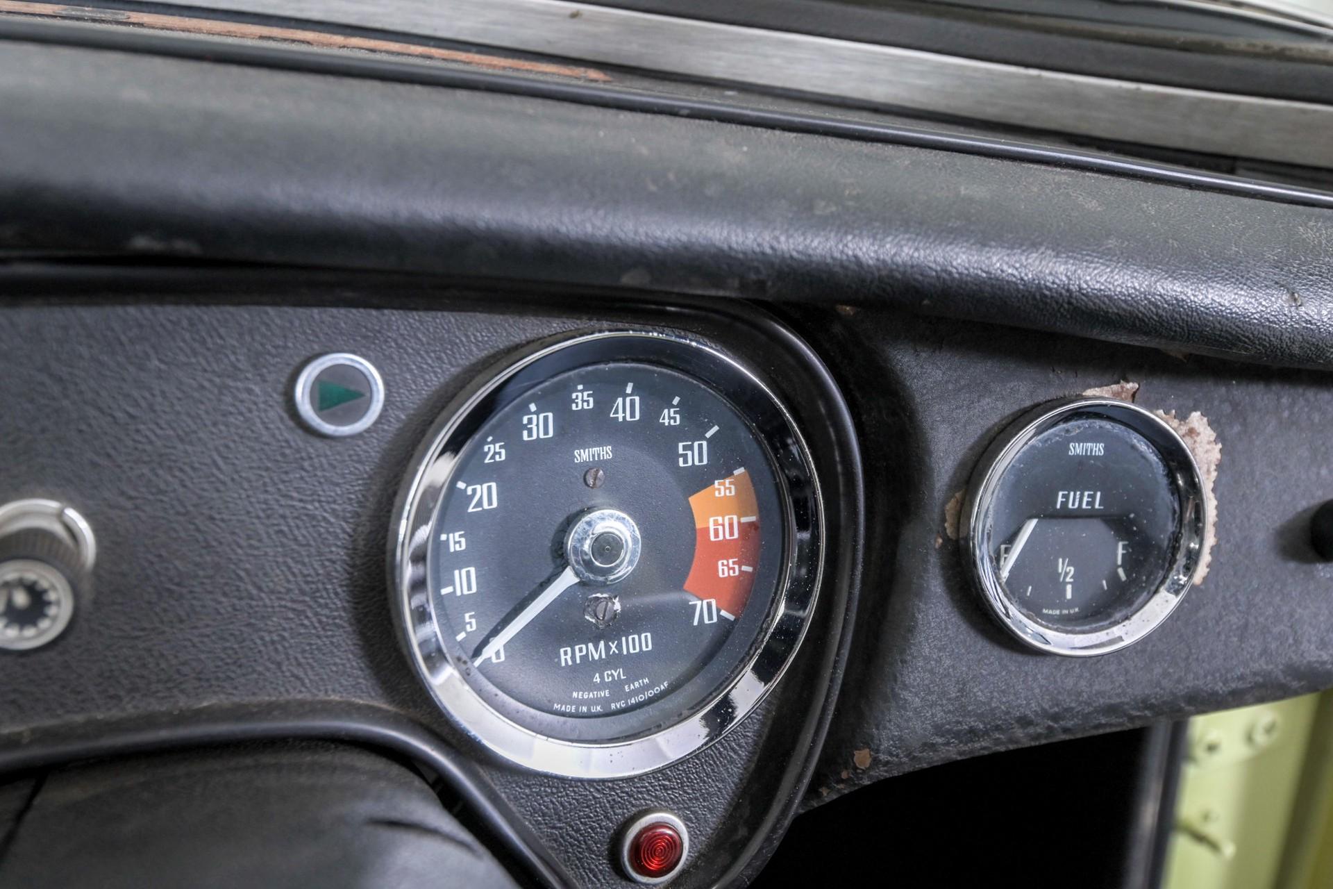 MG B MGB overdrive 1.8 Roadster Foto 16