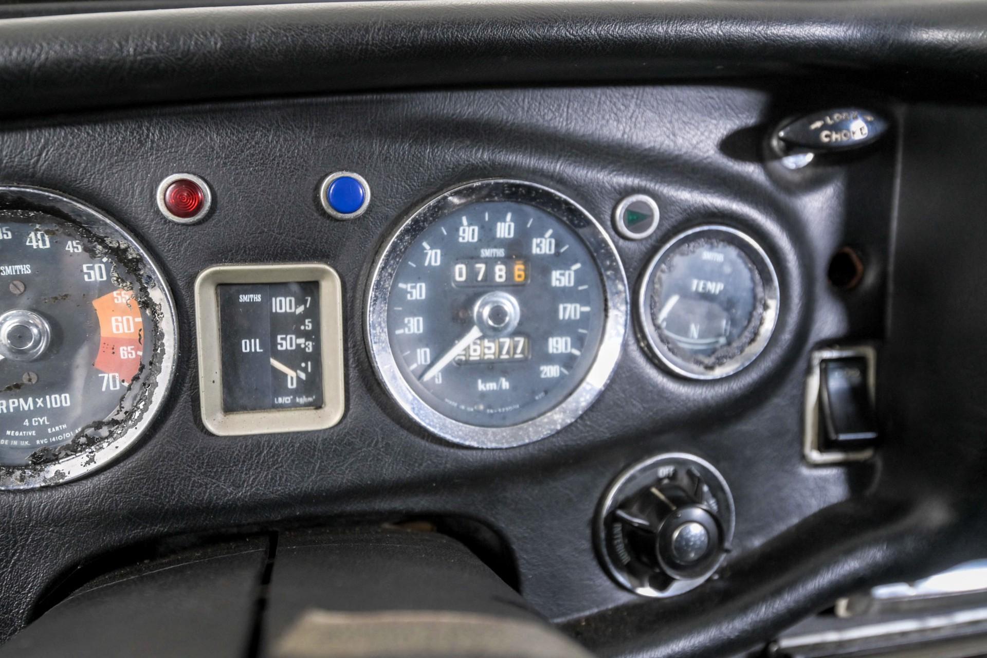 MG B 1.8 GT overdrive Foto 26