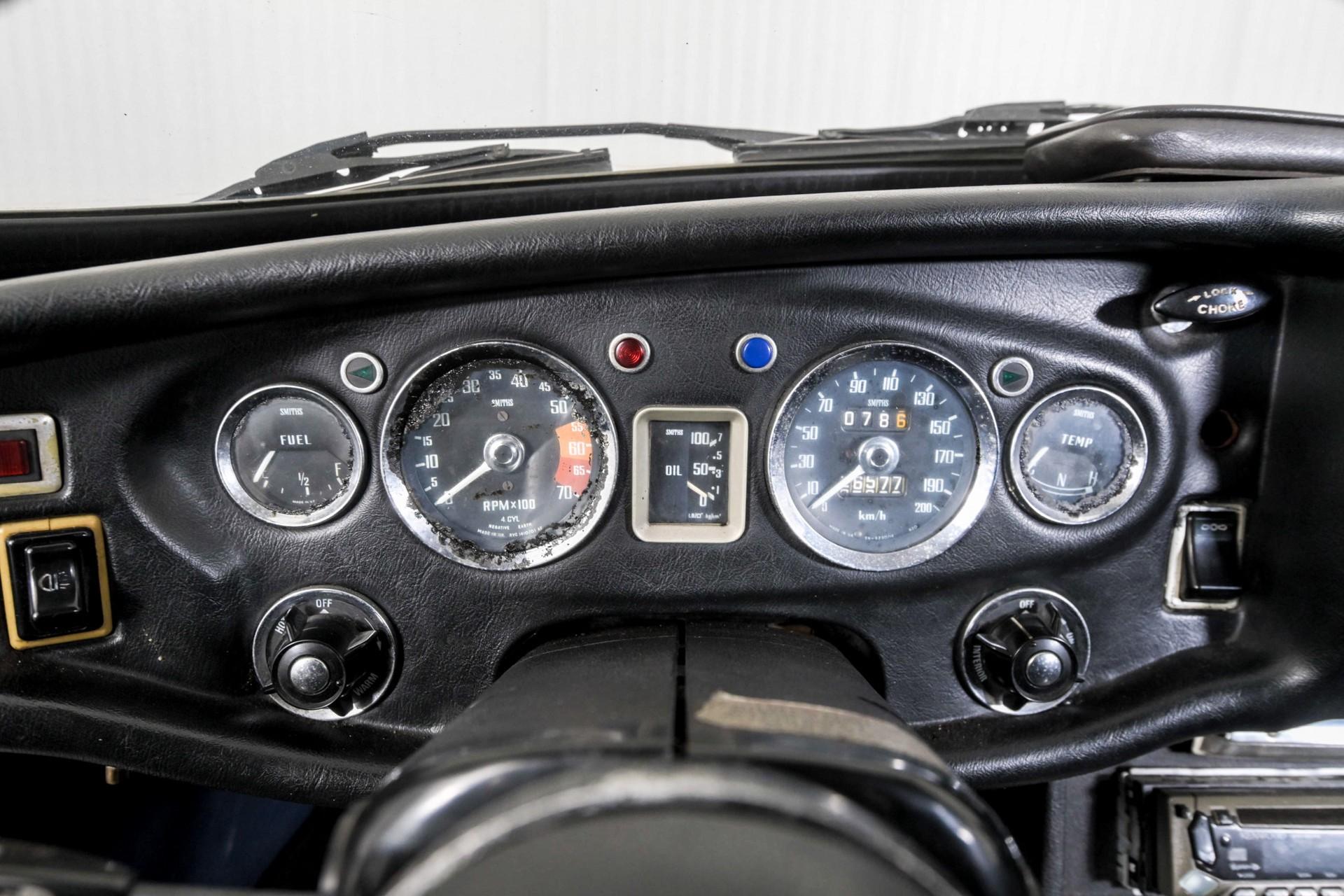 MG B 1.8 GT overdrive Foto 34
