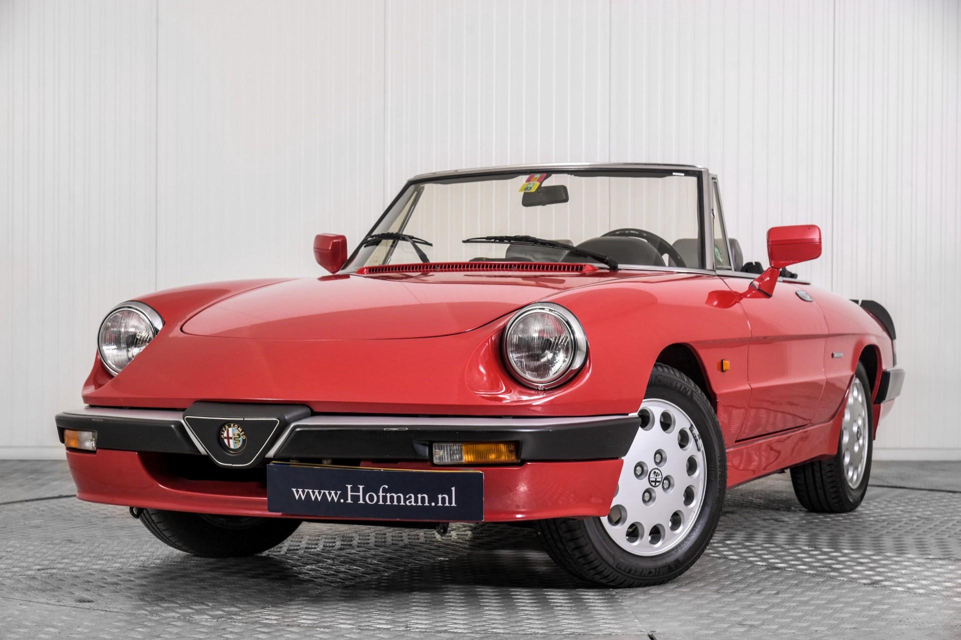 Alfa Romeo Spider 2.0 QV quadrifoglio verde slechts 75.000 KM! Foto 3