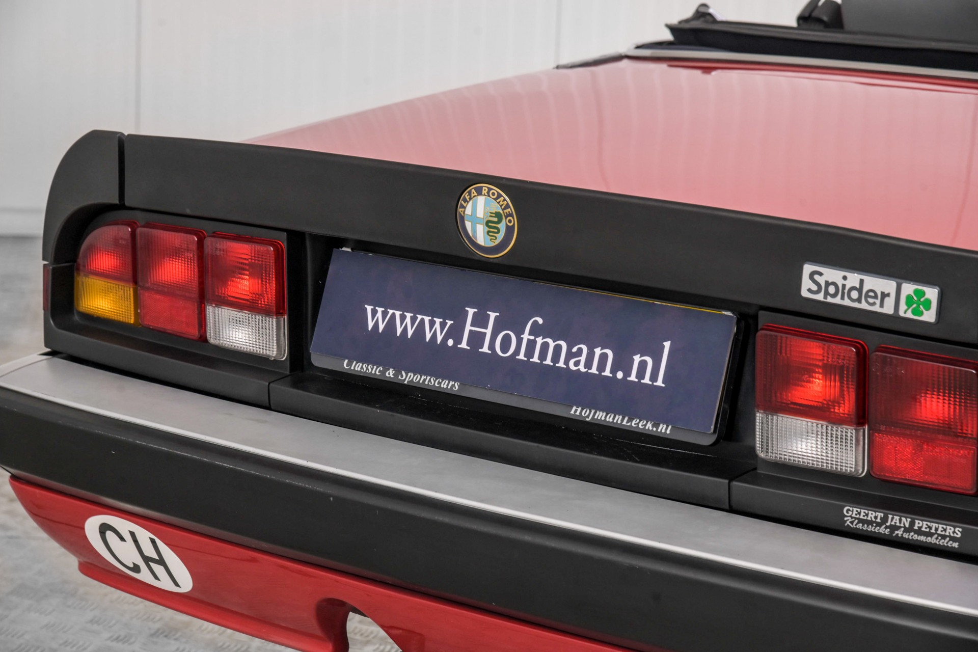 Alfa Romeo Spider 2.0 QV quadrifoglio verde slechts 75.000 KM! Foto 31